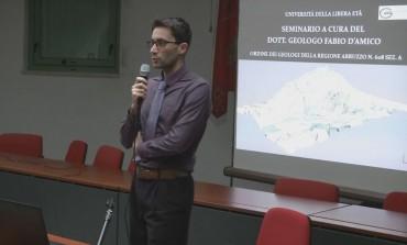 Castel di Sangro, il geologo D'Amico evidenzia le criticità del masso roccioso del castello