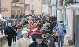 Grande festa ad Ateleta per la morte di Carnevale