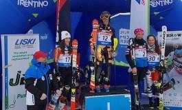 Sci, Francesca Carolli vince l'oro in slalom a Folgaria