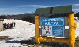 Pescocostanzo, Vallefura unica stazione sciistica abruzzese con campo di addestramento A.R.T.V.A.