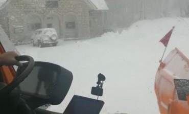 Maltempo, nevicate a Capracotta e Roccaraso