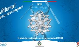 """Roccaraso, Coccopalmeri crea """"Vittoria"""": il gioiello simbolo della 41^ edizione del gran premio giovanissimi"""