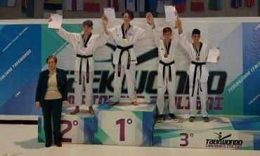 Takwondo, Odone Santucci vince l'oro al campionato italiano in Sardegna