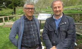 1 maggio a Capracotta: pienone al giardino della flora appenninica per la festa della riapertura