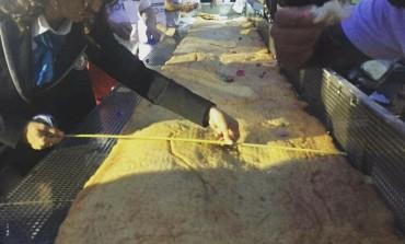 Castel di Sangro, Salvatore Iorio protagonista del guinness world record della pizza a Napoli