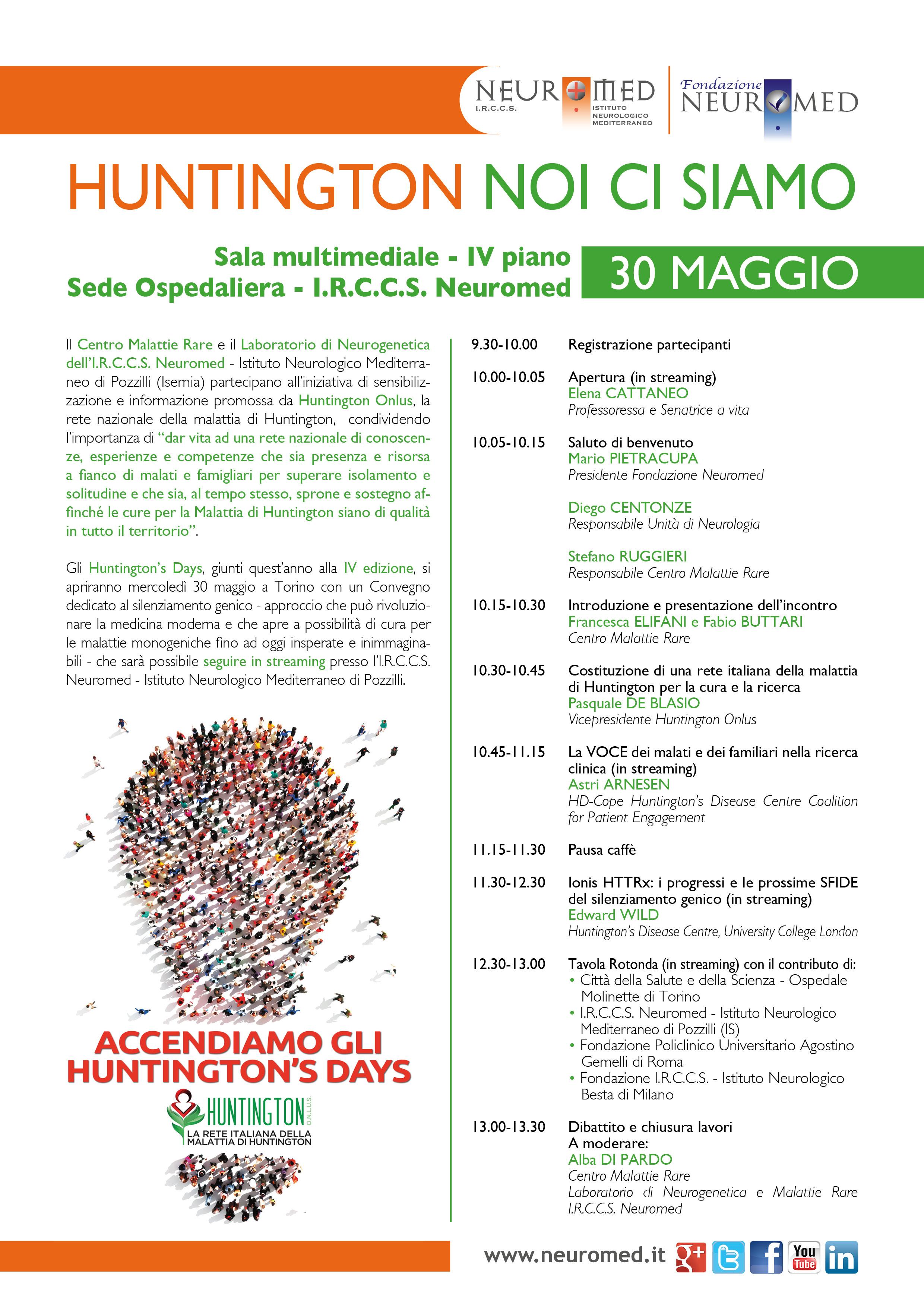 programma Huntington Pozzilli 2