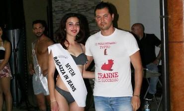 """La molisana Carmela Eva Montrone è la """"ragazza in jeans"""" del concorso Bellissima 2018"""