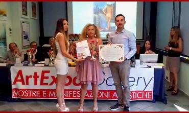 """Arte, Almerinda Di Carlo vince a Cesenatico il """"Trofeo la vela d'oro"""""""
