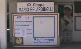 Centonovanta tennisti a Castel di Sangro per la Coppa Belardinelli
