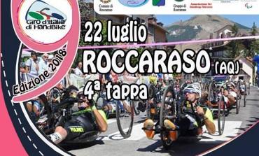 Handbike, 4^ tappa del giro d'Italia a Roccaraso
