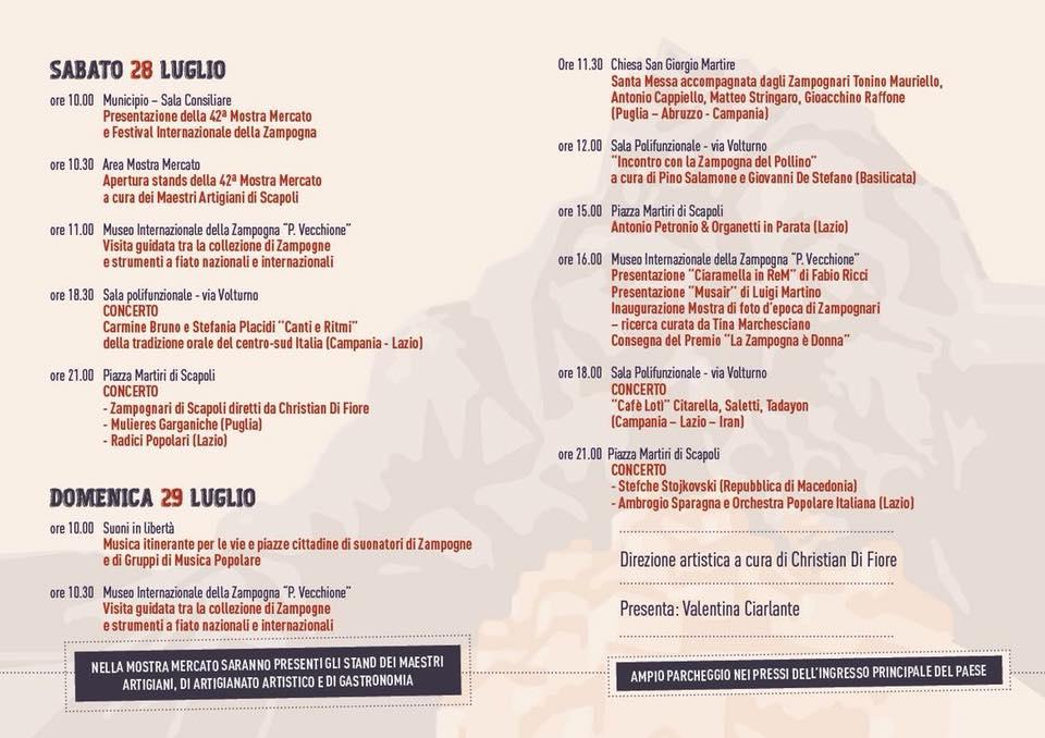 programma festival zampogna 2019