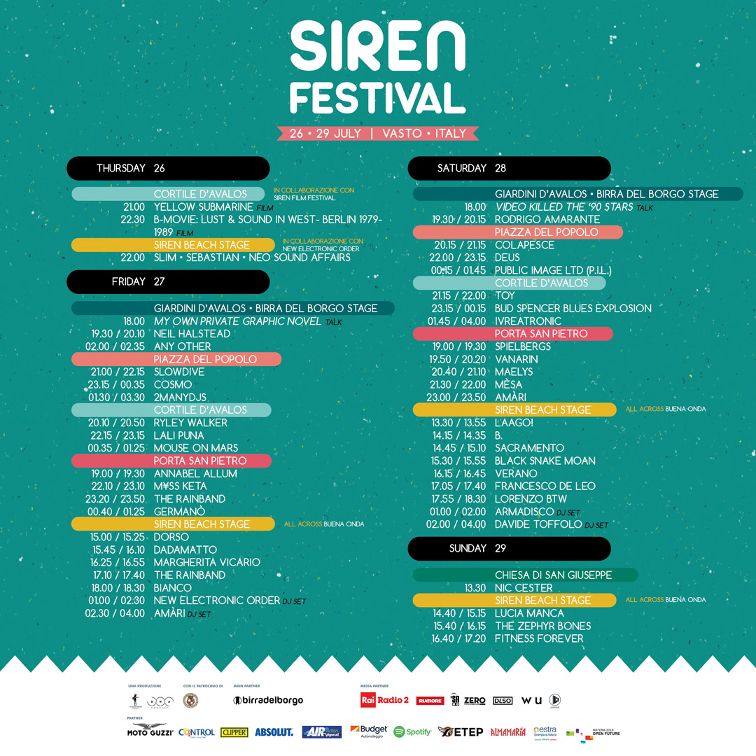 programma siren festival