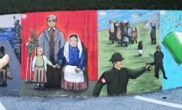 La storia di Ateleta su un murales: la singolare iniziativa della Pro Loco
