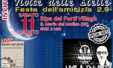 Ripa dei Forti Village, sound e dancing per la Festa dell'Amicizia 2.0