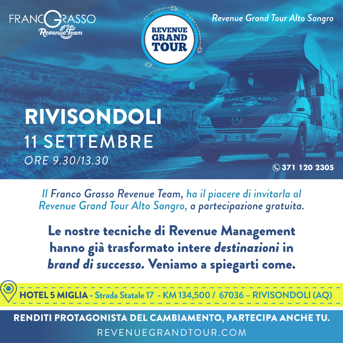Revenue Grand Tour Rivisondoli(1)