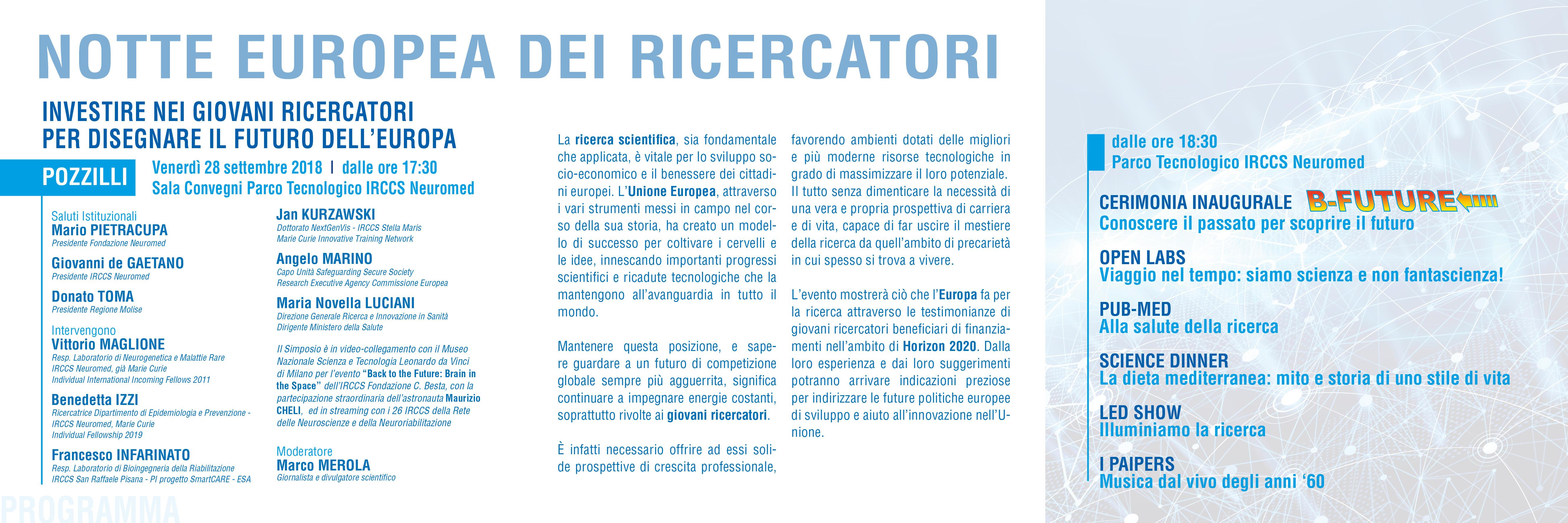 brochure Giovani ricercatori - 28 settembre2