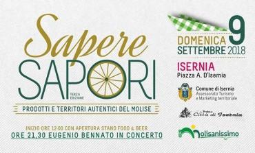 Concerto di Eugenio Bennato e gastronomia con 'Molisanissimo', domani a Isernia