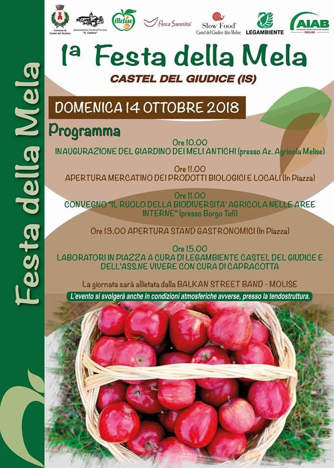 programma festa della mela