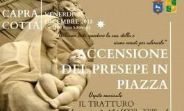 Capracotta, accensione del presepe in piazza Falconi: venerdì 7 dicembre