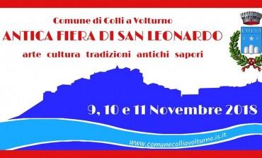 Colli a Volturno, tredicesima edizione della Fiera di San Leonardo