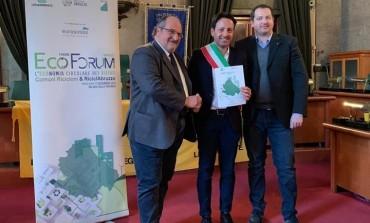 """Roccaraso comune """"riciclone 2018"""", Di Donato riceve il riconoscimento da Legambiente"""