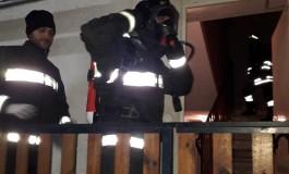 Rivisondoli, il malfunzionamento dello scaldaletto manda in fiamme un'abitazione