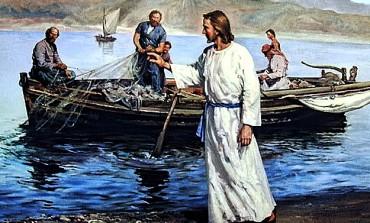 """Simone il pescatore di uomini, """"Maestro sulla tua parola getterò le reti"""""""
