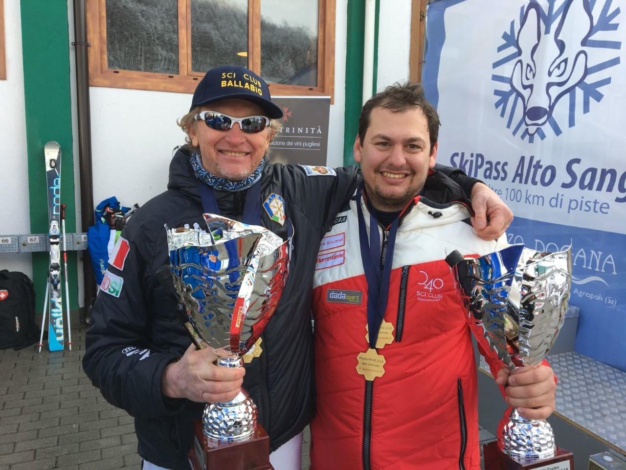 thumbnail_Andrea Ballabio con nipote Aldo campione Italiano in carica MasterA SL-