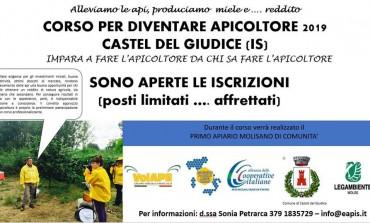 Castel del Giudice, nasce il primo apiario di comunità in Molise: al via il corso d'apicoltore