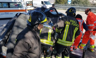 Castel di Sangro, incidente stradale: due feriti