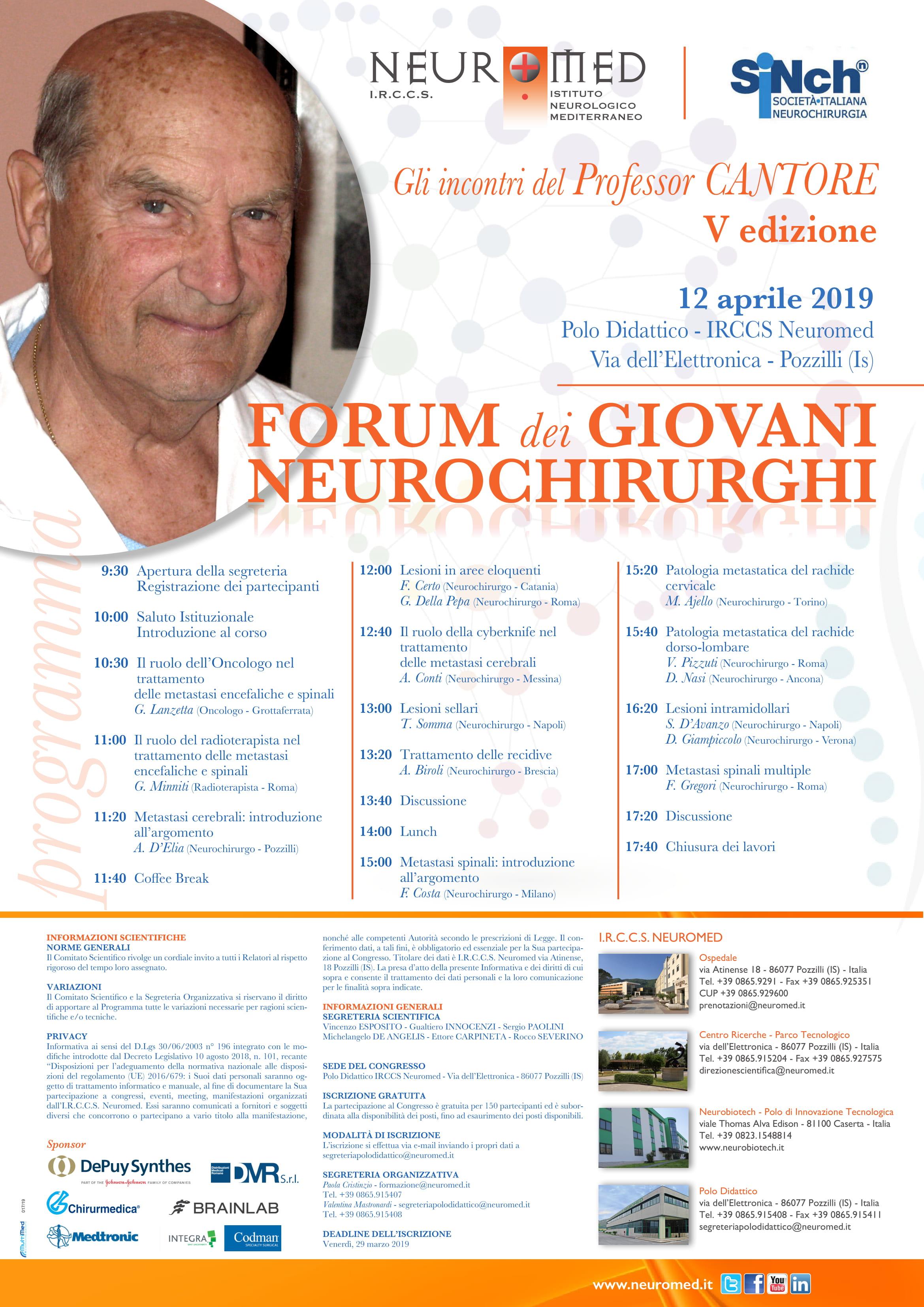 017-19 locandina Memorial Cantore-1