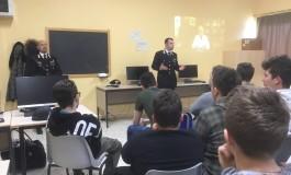 Alberghiero Roccaraso, carabinieri in classe per spiegare le conseguenze del bullismo