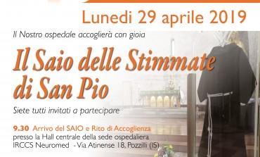 A Pozzilli arriva il saio delle stimmate di San Padre Pio