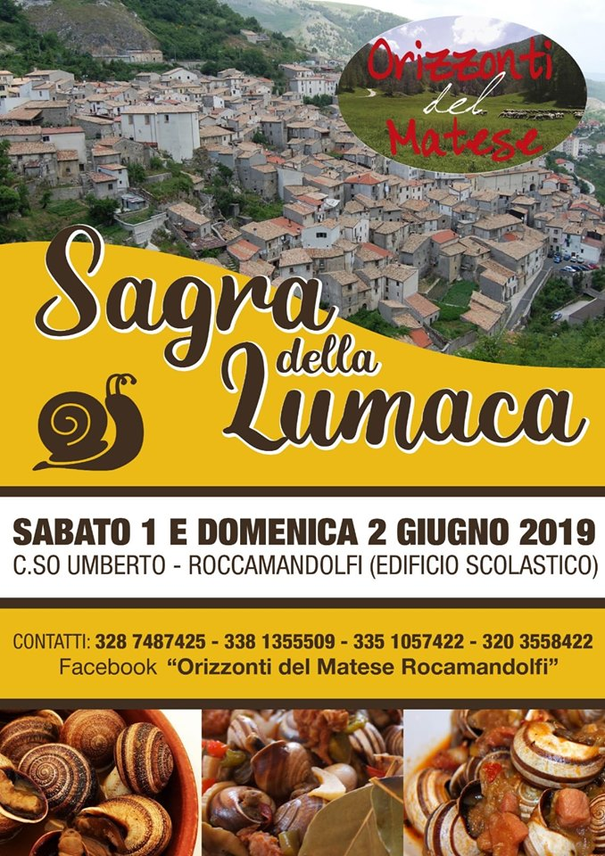 Sagra della Lumaca - Roccamandolfi