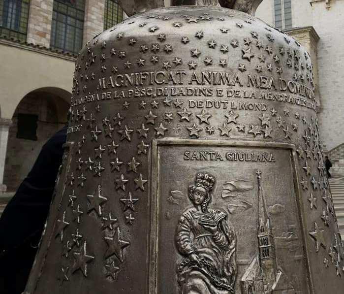 Le Campane Di Agnone.Agnone Benedetta Da Papa Francesco La Campana Delle