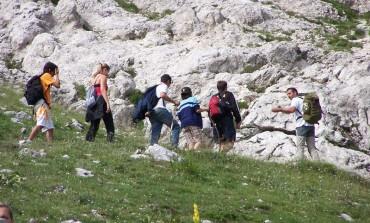 Turisti innamorati del Parco Nazionale d'Abruzzo, Lazio e Molise