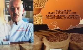 Chieti, lo chef castellano Ivano Pallotta direttore del corso sui grani antichi