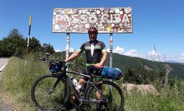 1200 chilometri in bici per tornare da Torino in Abruzzo, ecco la storia di Vincenzo Traglia