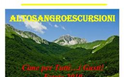 """""""Cime per tutti i gusti"""", esce il calendario estivo di Altosangro escursioni"""