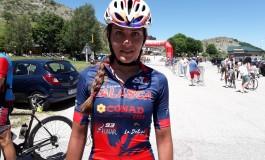 Ciclismo, l'aquila delle mainarde Manuela De Iuliis si impone alla 4^ edizione del granfondo nel Parco Sarto