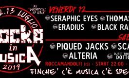 Roccamandolfi spalanca le porte al festival matesino 'Rocka in Musica': 12 e 13 luglio