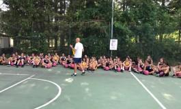 Basket, concluso il campus EBR delle cestiste a Pescasseroli