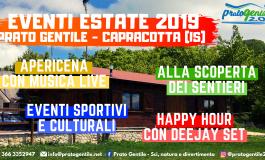L'estate dei divertimenti è a Capracotta, ecco il programma di Prato Gentile 2.0