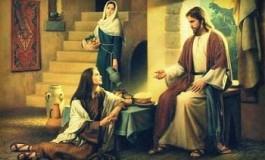 """La visita di Gesù in casa di Marta, """"Tu ti affanni mentre Maria ha scelto la parte migliore"""""""