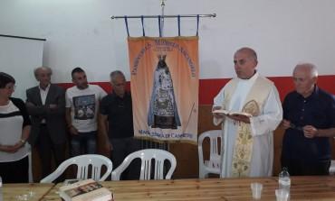 Villa San Michele, presentato alla comunità lo stendardo della Madonna di Canneto