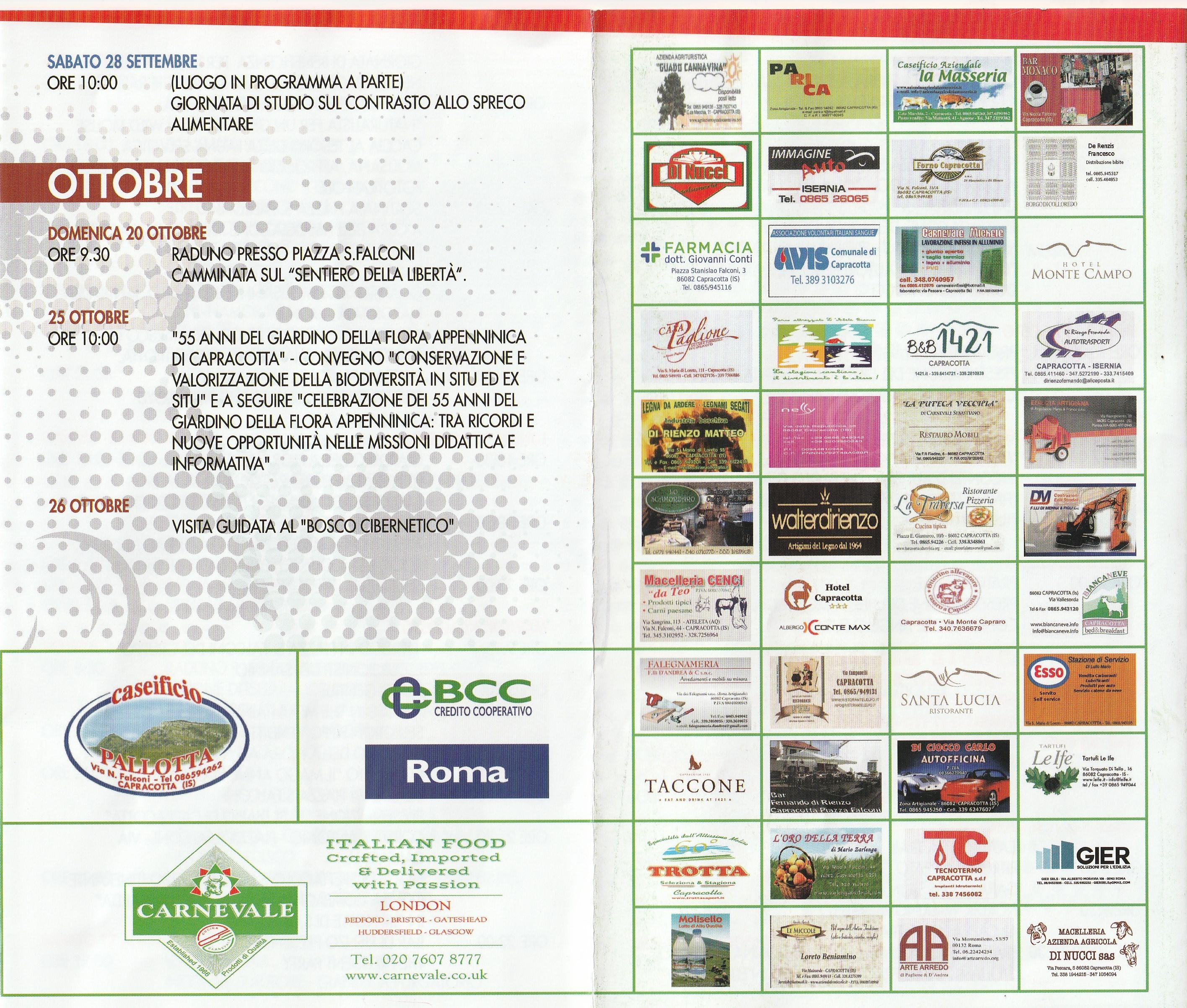 Estate ad Alta Quota Capracotta 2019