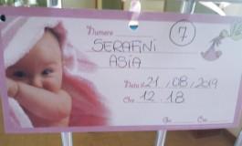 Fiocco Rosa a Pescopennataro, è nata Asia Serafini
