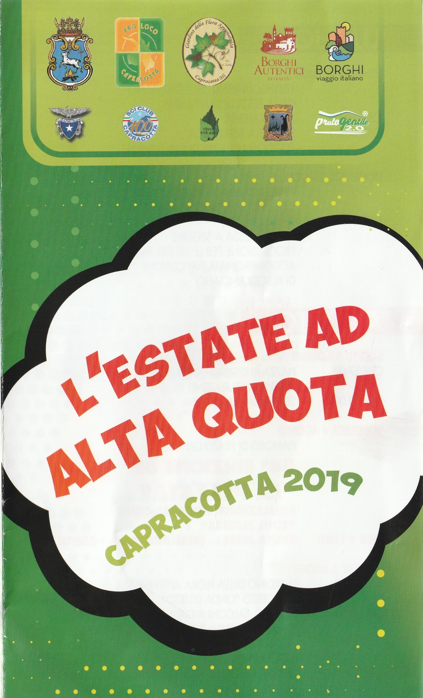 Estate ad Alta Quota Capracotta 2019