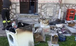 Pescocostanzo, alle fiamme un'abitazione: forse un corto circuito all'impianto elettrico
