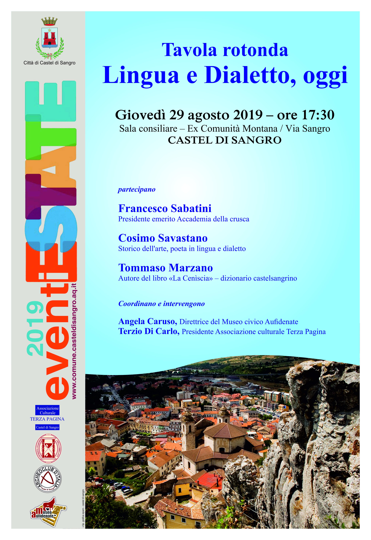 Lingua e Dialetto, oggi - Castel di Sangro